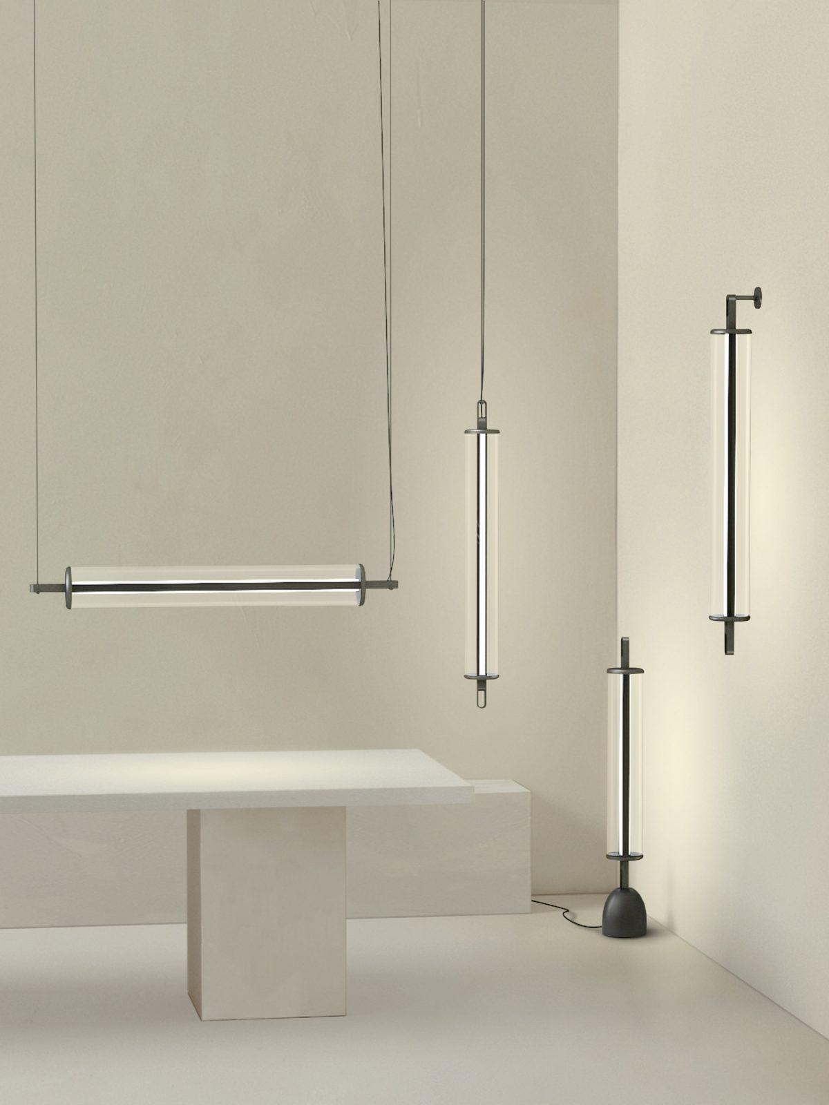 Fine Lumens 与西涛设计工作室合作的灯具系列 The Line collection 在上海时尚家居生活展上展出。